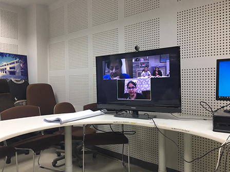 APCD exchanged a Good Practice on Economic Empowerment and Employment for Thai Persons with Disabilities with Sarthak Educational Trust, India via Zoom Video Communication on 17 July 2020