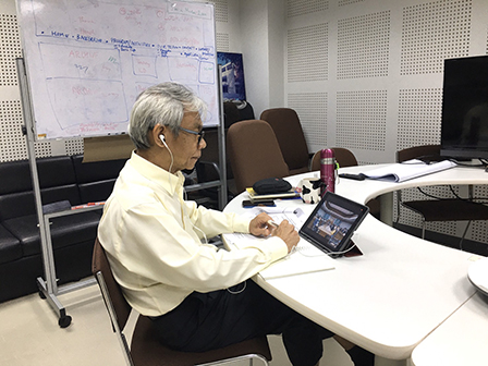 APCD was invited to participate in an online meeting with Sirindhorn National Medical Rehabilitation Institute, 1 July 2020