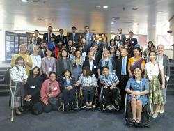 APCD Joins Asia-Pacific Launch of the United Nations Disability Inclusion Strategy: Making the Right Real in Our Region, In commemoration of the International Day of Persons with Disabilities, 3 December 2019, Bangkok, Thailand