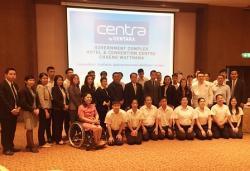 60+ Plus Hotel Service Training Interns at Centra by Centara, Bangkok, Thailand, 23 July 2019
