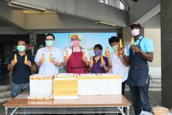 APCD's 60+ Plus Bakery and Chocolate Café launched a project - free delivery of 60+ Plus products to persons with disabilities, and other vulnerable groups during COVID-19 outbreak at Priest Hospital, 5 June 2020, Bangkok, Thailand