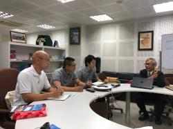 Japanese Physical and Occupational Therapist visit to APCD on Monday, 26 August 2019