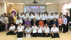 """Closing Ceremony of the """"Skill Development Training in Hotel Industry for Persons with Disabilities"""" at APCD on 22 August 2019"""