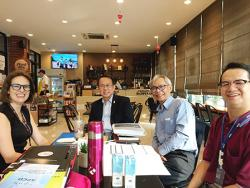APCD had a meeting with the Representative from UNFPA for Future Collaboration on 18 February 2020 at 60 Plus Bakery & Chocolate Cafe, Bangkok, Thailand